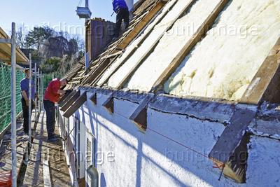 Dachsanierung aufsparrendämmung